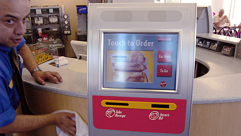 McDonald's Tests Self-Ordering Kiosks